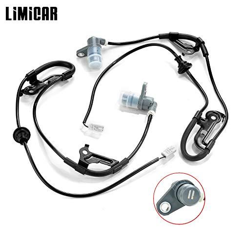 LIMICAR 2PCS Rear ABS Wheel Speed Sensor ALS266 ALS265 8954533020 Compatible w/ 1999-2003 Toyota Solara 1992-2001 Toyota Camry 1995-2004 Toyota Avalon 1992-2001 Lexus ES300