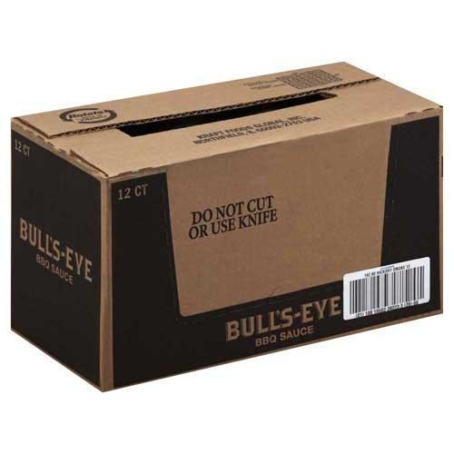 Bull's-Eye Hickory Smoke Barbecue Sauce 18 oz (Pack of 12) ()