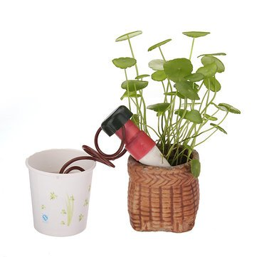2Pcs Indoor Automatic Drip Watering System For Houseplant Plant^.