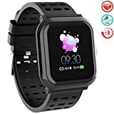 "TwobeFit Fitness Tracker, Activity Tracker Smart Watch with 1.3"" Color Screen, Waterproof Fitness"