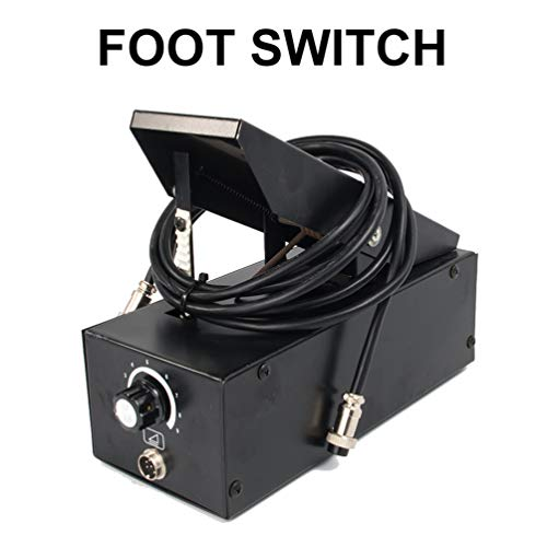 - 2+3 Pin TIG Foot Control Pedal Power Current Switch Momentary Action for Welder