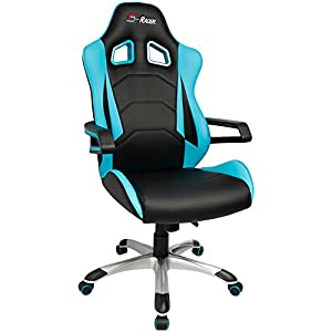 Homall Speed Series Racing Chair Ergonomic High-Back Gaming Chair Premium PU Leather Bucket Seat,Computer Swivel Lumbar Support Executive Office Chair