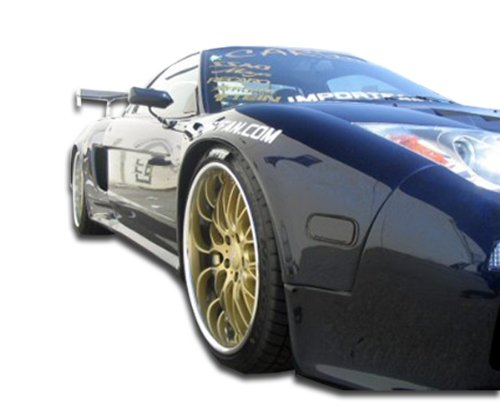 Acura Nsx Gt300 Wide Body - 1991-2005 Acura NSX Duraflex GT300 Wide Body Front Fenders - 2 Piece