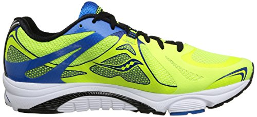 Saucony Mirage Citron/Blue/Black