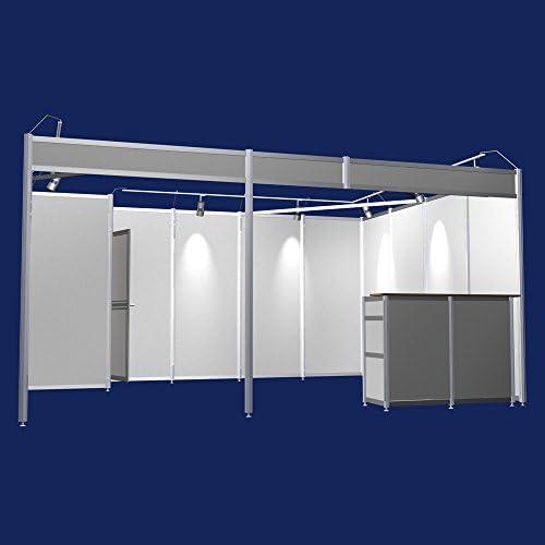 Feria de soporte y 4 x 5 meter de filas de soporte para iluminación de un trastero contador sistema de construcción stand modular sistema messebau: Amazon.es: Hogar