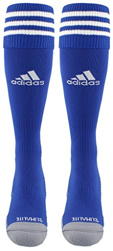 adidas Copa Zone Cushion III Soccer Socks (1-Pack), Cobalt/White, Medium