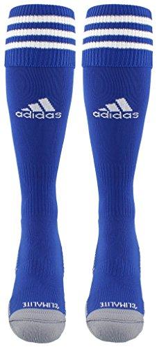 adidas Copa Zone Cushion III Soccer Socks (1-Pack), Cobalt/White, Large