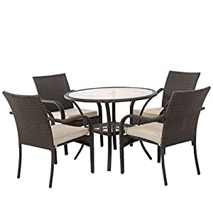 41yWvoy1nzL._SS300_ Wicker Dining Tables & Wicker Patio Dining Sets