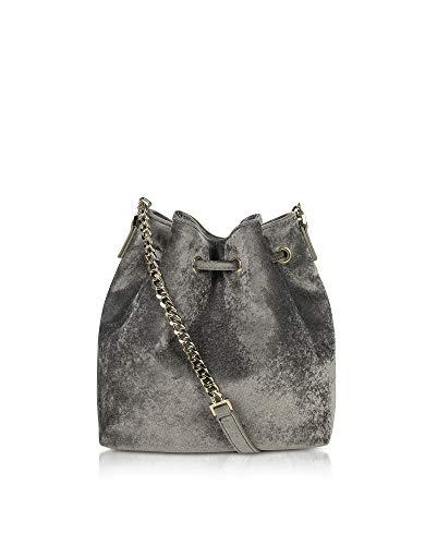 Women's Silver Shoulder 51909argent Paris grey Lancaster Velvet Bag twqBC55