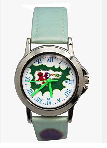 (Sesame Street Elmo Light Blue Colored Band Roman Numeral Watch (25mm))