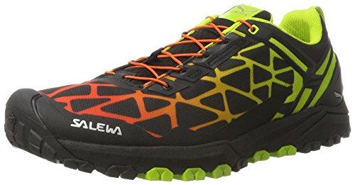 SALEWA Multi Track, Scarpe da Arrampicata Basse Uomo Nero (Black/Cactus 0916)