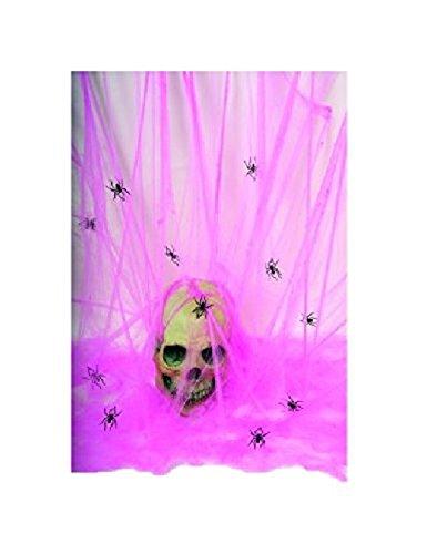 - Halloween Spider Web - Pink Glow