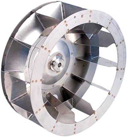 Ventilador D1 Diámetro 350 mm H1 125 mm Palas 12 D2 Diámetro 13 mm ...