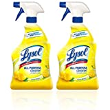 Lysol All Purpose Cleaner Spray, Lemon Breeze, 32 oz (Pack of 2)