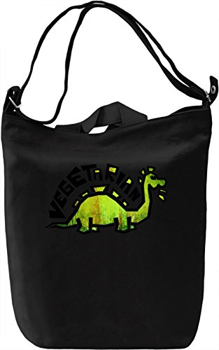 Cute Vegetarian Borsa Giornaliera Canvas Canvas Day Bag| 100% Premium Cotton Canvas| DTG Printing|