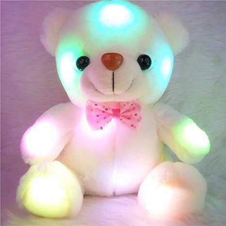 Amazon Com 8 Unique Baby Night Light Cute Plush Teddy Bear Led 7