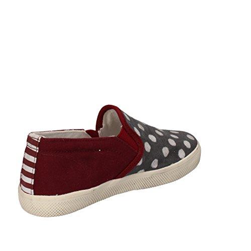 D.A.T.E. (DATE) Sneakers Bambina/o 32 EU Bordeaux Grigio Tessuto