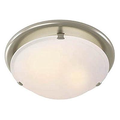 Broan-Nutone 761BN Decorative Brushed Nickel Fan / Light