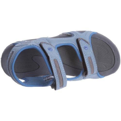 Hi-Tec - Informal de material sintético infantil azul - Light Blue/Macaw