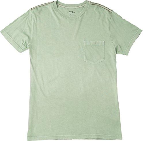Haze Green - RVCA Men's PTC 2 Pigment Shirt, Green Haze, S