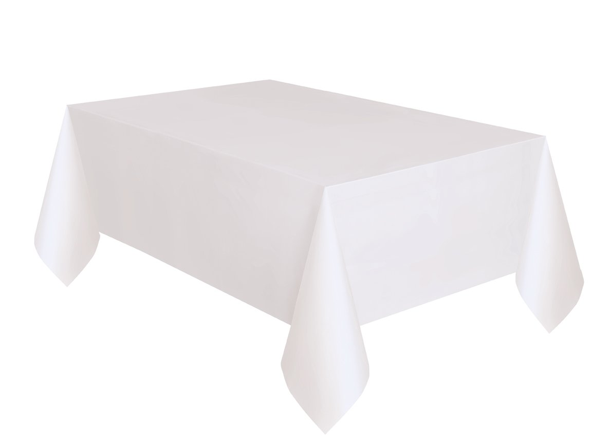 9 x 4.5 ft 50354 Wow Table Cover 2-Pack White