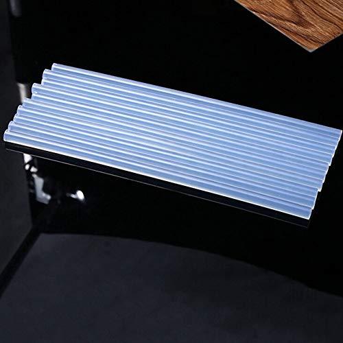 Sottili elettrici Forza riscaldante Panamami Set di 10 Bastoncini di Colla a Caldo Non tossici per lavori Artigianali Trasparenti Adesivi