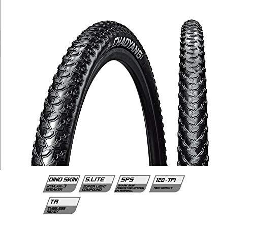 JGbike ChaoYang MTB Bicycle tire for XC Riding Bike H5175 120TPI Folding Superlight Dino Skin - 27.5