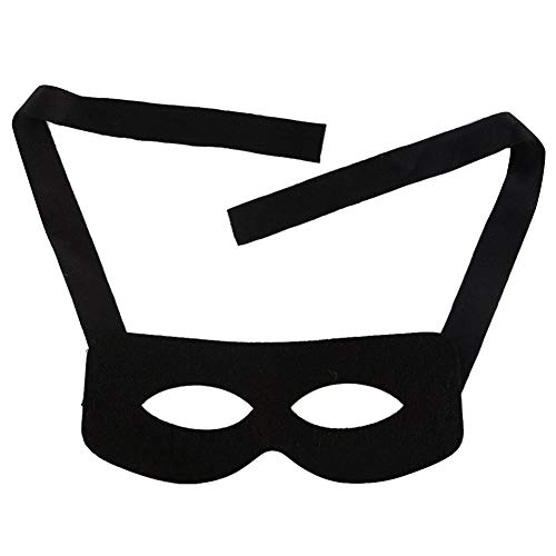 Xgfkljkrelw Halloween Mask Zorro Sword Fighter Masquerade Cosplay Face Mask Men's Masked Knight Fashing Carnival Adult Costume Unit Sizes (Color : -, Size : -) -