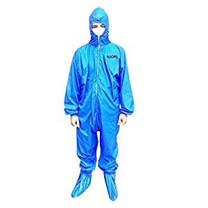 NJ Washable Reusable PPE Safety Coverall with...