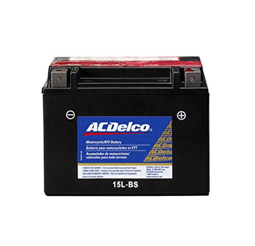 ACDelco ATX15LBS Specialty AGM Powersports JIS 15L-BS Battery