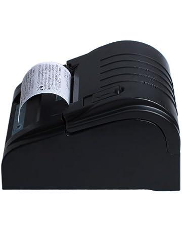 Excelvan ZJ - Impresora térmica de Tickets y Recibos (58mm, 90mm/s,