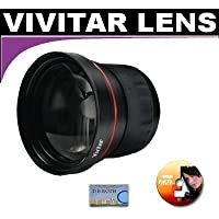 Vivitar Series 1 High Definition Wide Angle Fisheye 0.21x Lens For The Panasonic DMC-GX1, G3, GF3 Digital Camera Which Has A (14-45mm, G 14-42mm, 45-200mm) Micro Lens