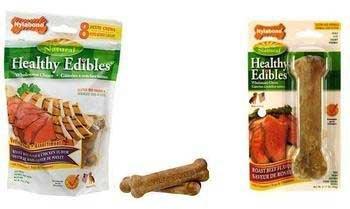 Nylabone Healthy Edible Beef Bone Pet 2pk