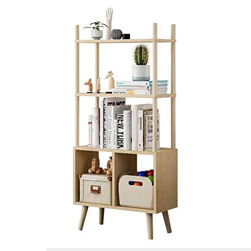 Jcnfa-Shelves Bookshelf Storage Box DIY Cabinet Organizer Multi-Layer Floor Stand Children's Student Bookcase Large Capacity
