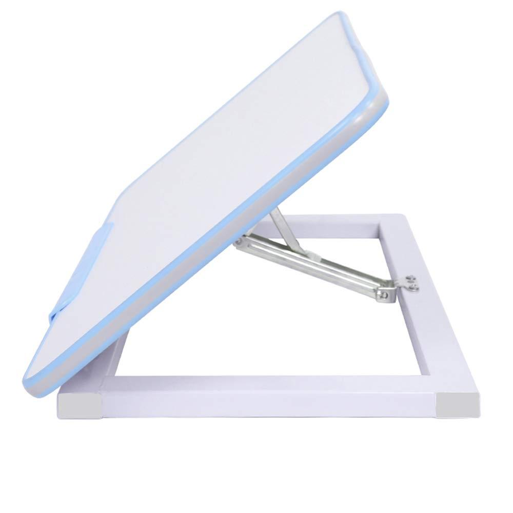 LJHA zhuozi 補正テーブルリフト可能な子供の学習テーブルライティングデスク2色オプション (色 : 青)  青 B07KS2B5CG