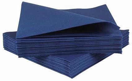 Pack of 100 Linen Feel JEBBLAS Luxury Airlaid White Paper Napkins
