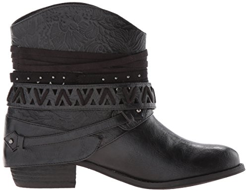 Not Rated Women's Naoni Ankle Bootie Black GtvOEPTt