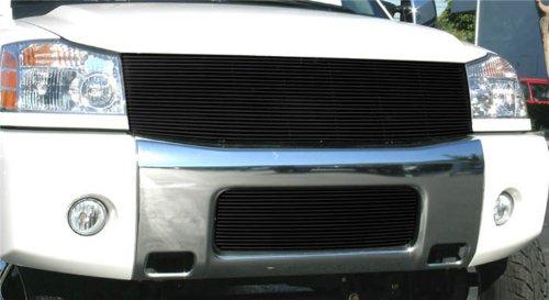 T-rex Nissan Billet Grille (T-Rex Grilles 20780B Horizontal Aluminum Black Finish Replacement Billet Grille for Nissan Titan Armada)