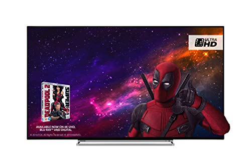 Toshiba 55U5863DB 55-Inch Smart 4K Ultra-HD HDR LED TV with Freeview Play-...