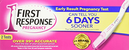 First Response Early Result Pregnancy Tests - 2 ct, Pack of 3