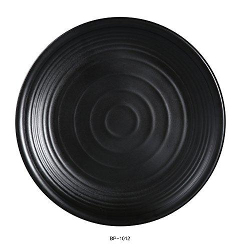- Yanco BP-1012 Black pearl-1 Round Plate, 12