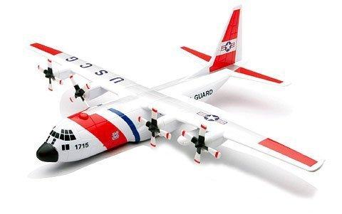 Diecast Model Us Coast Guard - New-Ray Toys Inc. 20617 1/60 Lockheed C-130 Hercules USCG