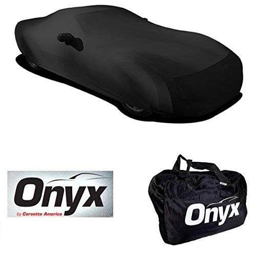 C6 Corvette HIGH END Onyx Black Satin Custom FIT Stretch Indoor CAR Cover FITS: All C6 05-13 CORVETTES (Custom C6 Corvettes)