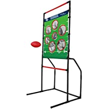 Sport Squad 2-in-1 Football and Disc Toss EndZone Challenge for Indoor/Outdoor Use