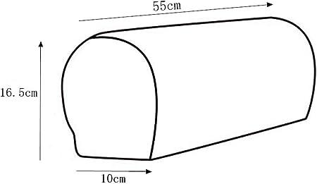 PETSOLA El Paquete De 2 Reposabrazos De Sofá Cubre Protectores con Diseño De Franela A Cuadros - Vino Rojo