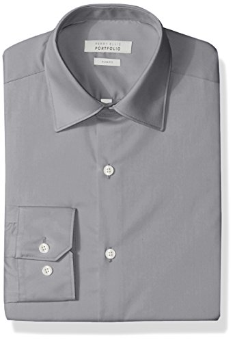 Perry Ellis Wrinkle Dress Shirt
