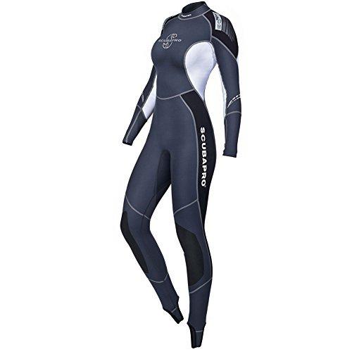 SCUBAPRO New Profile 0.5mm Wetsuit Women's Black/ Gray / White L by ScubaPro