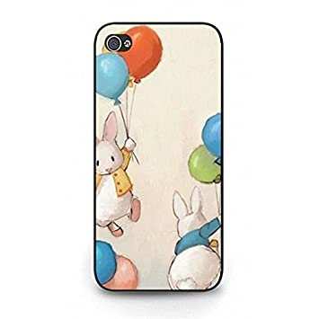 Iphone 5 5s Se Cover Cute Amazing Rabbit Wallpapers Amazon