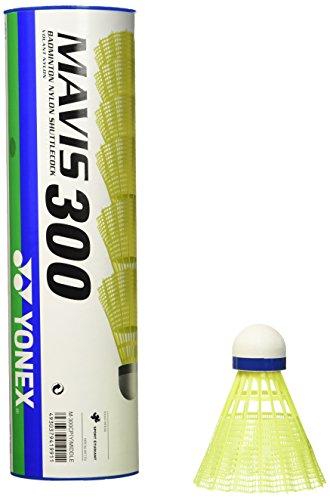 Yonex Mavis 300 Yellow Nylon Shuttlecocks 1/2doz from Yonex