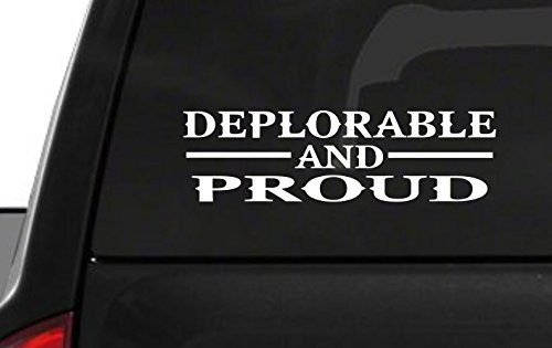 Deplorable Proud Sticker American Window product image